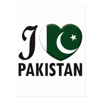Pakistan Love Postcard
