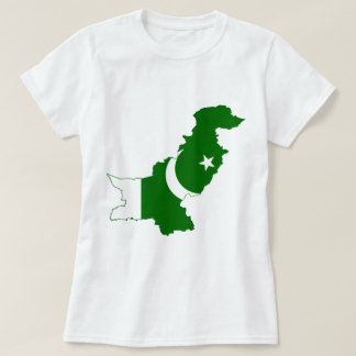 Pakistan Map Flag T-Shirt