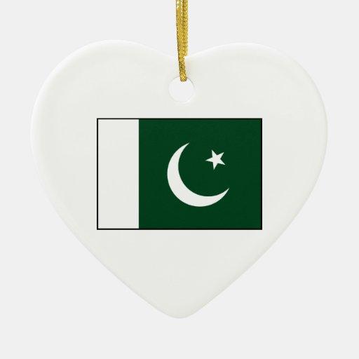 Pakistan – Pakistani Flag Christmas Ornament