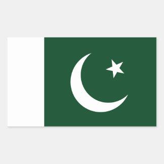 Pakistan/Pakistani Flag Rectangular Sticker