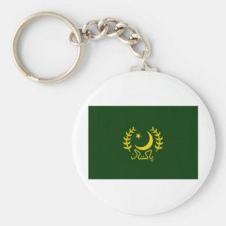 Pakistan President Flag Keychain