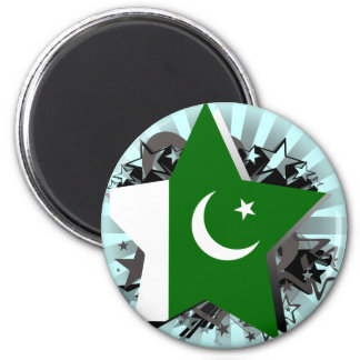 Pakistan Star Refrigerator Magnet