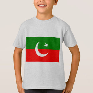 Pakistan Tehreek E Insaf, Colombia flag T-Shirt