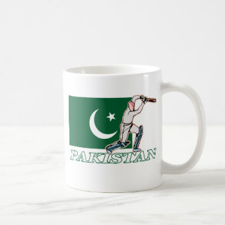 Pakistani Cricket Player Coffee Mug