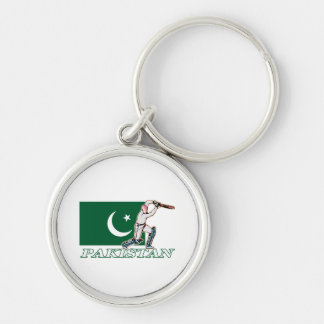 Pakistani Cricket Player Key Ring