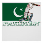 Pakistani Cricket Player Poster