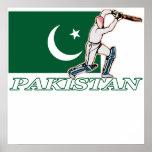 Pakistani Cricket Player Poster