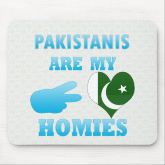 Pakistanis are my Homies Mouse Pads