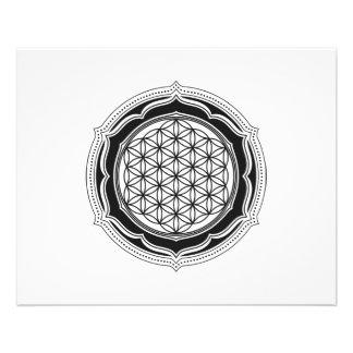 Pakua, Bagua, Yin Yang, China, Symbol Of Reality 11.5 Cm X 14 Cm Flyer