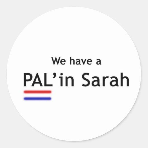 PAL' in Sarah Sticker