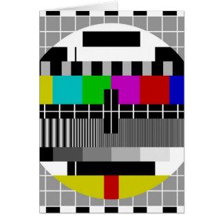 PAL TV test signal Cards