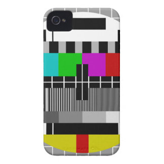 PAL TV test signal iPhone 4 Case-Mate Cases
