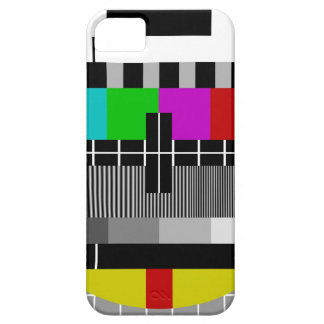 PAL TV test signal iPhone 5 Case