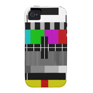 PAL TV test signal iPhone 4/4S Cover