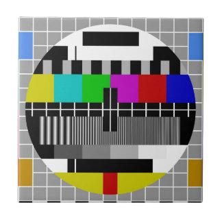 PAL TV test signal Ceramic Tile