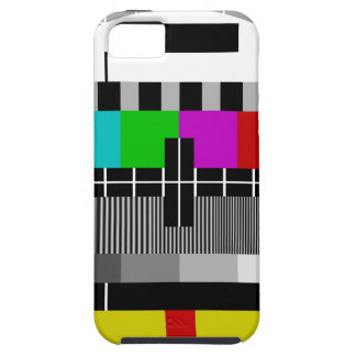 PAL TV test signal iPhone 5 Covers