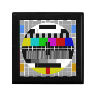 PAL TV test signal Jewelry Boxes