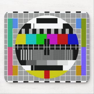 PAL TV test signal Mouse Pad