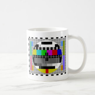 PAL TV test signal Basic White Mug