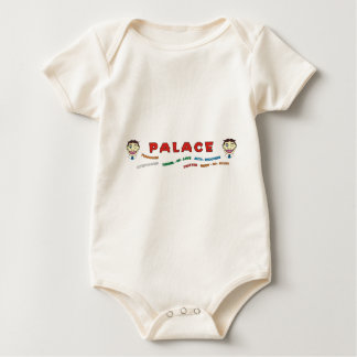 Palace Building Front Baby Bodysuit