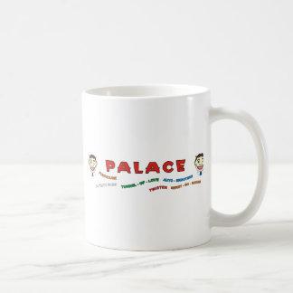 Palace Building Front Basic White Mug