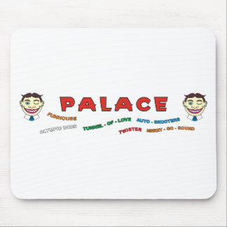 Palace Building Front Mouse Pad