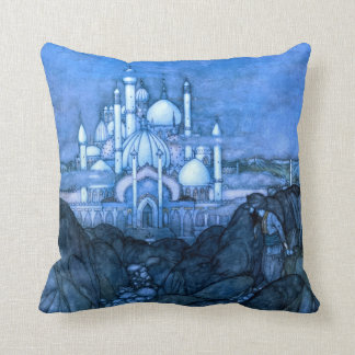 Palace Edmun Dulac Architecture Arabian Nights Cushion