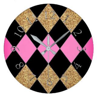 Palace_Harlequin_Princess Wall Clocks
