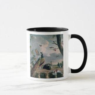 Palace of Amsterdam with Exotic Birds Mug