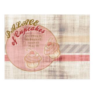 Palace of Cupcakes Postcard