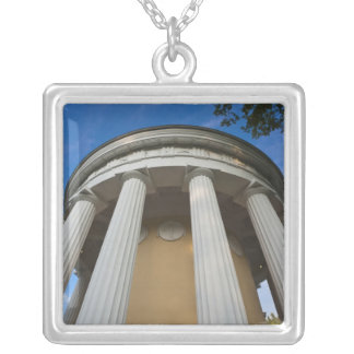 Palace of Czar Paul I, Temple of Friendship 2 Silver Plated Necklace