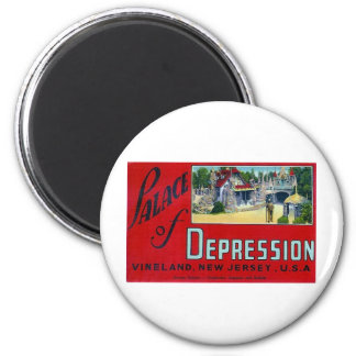 Palace of Depression Refrigerator Magnet