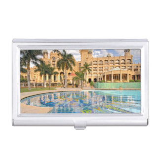 Palace Of The Lost City Hotel And Swimming Pool 2 Business Card Holder