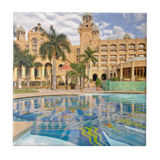 Palace Of The Lost City Hotel And Swimming Pool 2 Small Square Tile