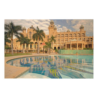 Palace Of The Lost City Hotel And Swimming Pool 2 Wood Wall Decor