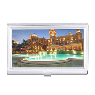 Palace Of The Lost City Hotel And Swimming Pool Business Card Holder