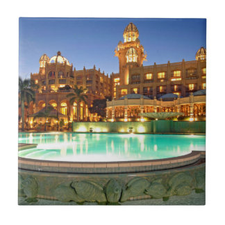 Palace Of The Lost City Hotel And Swimming Pool Small Square Tile
