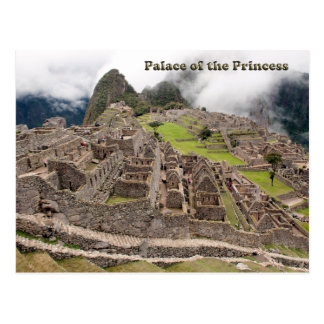 Palace of the Princess - Peru Postcard