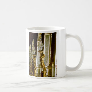 Palace of versailles Hall of mirrors Golden statue Coffee Mug