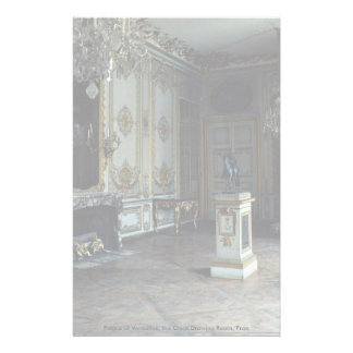 Palace of Versailles, the Clock Drawing Room, Fran Personalized Stationery