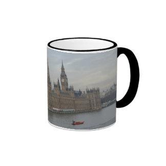 Palace Of Westminster Ringer Mug