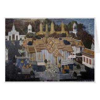 Palace Painting Greeting Card