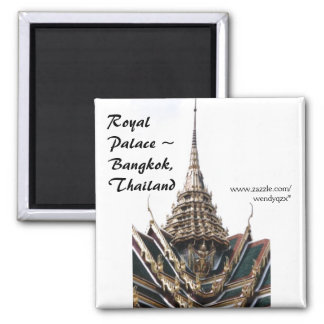 Palace Roof Square Magnet