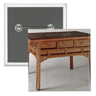 Palace table, Ming Dynasty, Hsuan Te Period 15 Cm Square Badge