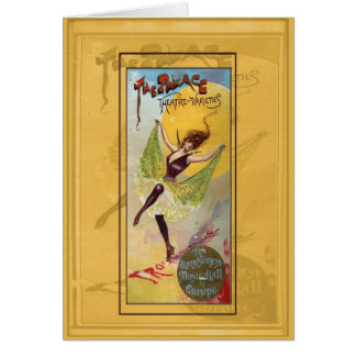 Palace Theatre of Varieties Greeting Card