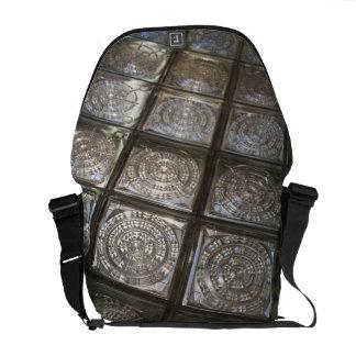 Palacio de Communicaciones, glass flooring Messenger Bag