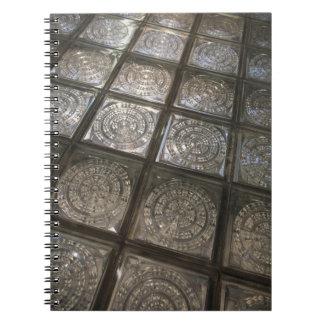Palacio de Communicaciones, glass flooring Notebooks