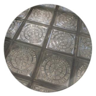 Palacio de Communicaciones, glass flooring Party Plates