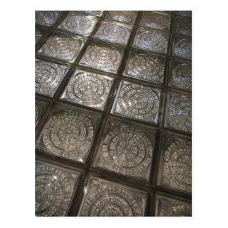 Palacio de Communicaciones, glass flooring Postcard