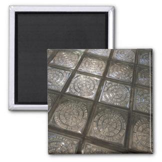 Palacio de Communicaciones, glass flooring Square Magnet